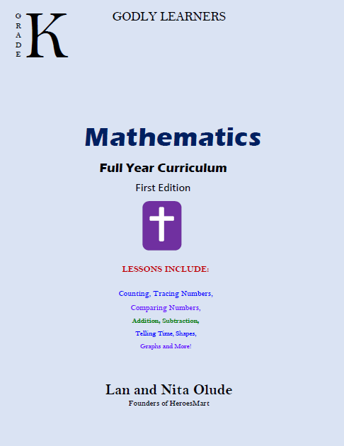 Grade-K-Math Front Cover